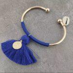 Gold/Navy Blue