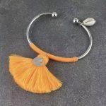 Silver/Orange